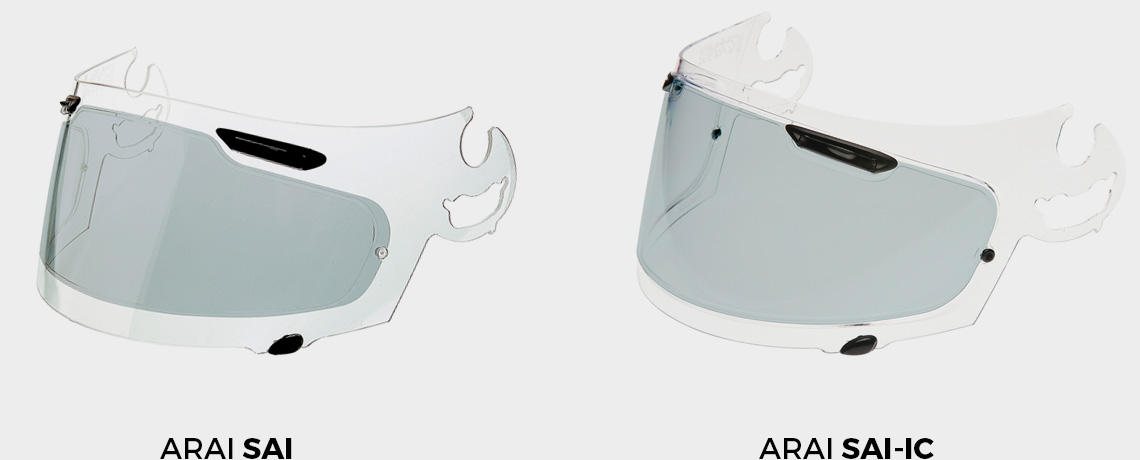 Arai lens options