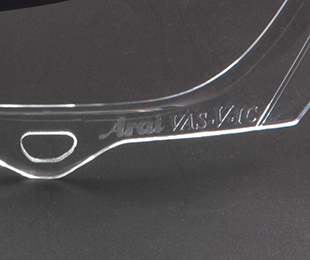 Arai stamped marking